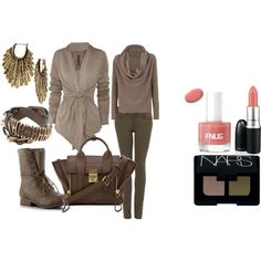 """""""Taupe"""" by martha-hill-carter on Polyvore"""