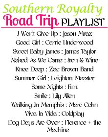 Southern Royalty: Road Trip Playlist