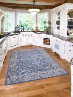 Superbe Large Kitchen Area Rug Persian Style