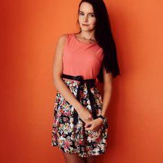 Eshop www.alionline.cz - květované šaty - univerzální velikost