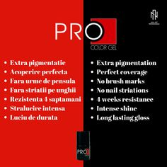 This professional system gives you the posibility yo offer your client's perfectly differentiated services and higher protection for the natural nails #procolorgel