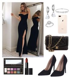 """""""Untitled #300"""" by glissy23 on Polyvore featuring Chanel, Kate Spade and Disney Kate Spade, Chanel, Shoe Bag, Formal Dresses, Disney, Polyvore, Shopping, Collection, Design"""