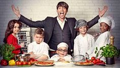 Alex James and mini cook-a-likes launch our new partnership with Pizza express
