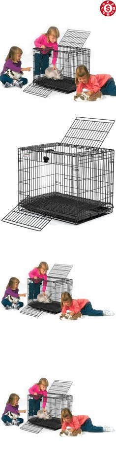 Cages and Enclosure 63108: Bunny Rabbit Cage Crate Kennel Small Pet Dog Indoor Metal Portable 25 Wabbitat -> BUY IT NOW ONLY: $49.7 on eBay!