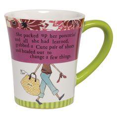 Santa Barbara Ceramic Design She Packed Up Her Potential Ceramic Mug #VonMaur