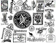 made by rubber stamp   Main / Unmounted Stamp Sheets / Australia Made Art Rubber Stamps