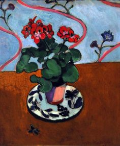 bofransson:  Henri Matisse French (Cateau-Cambresis, France 1869 - 1954 Nice, France) Geraniums, 1915