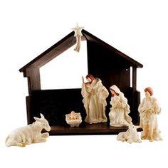 Belleek Classic Nativity Set   The Catholic Company
