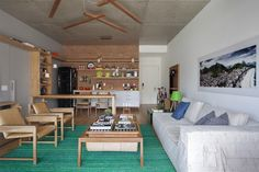 Casa de Valentia; decoração; projeto; apartamento; carioca; sala de estar