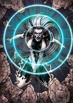 DC: Super-Villains - Silver Banshee Base Card Art by tonyperna on DeviantArt
