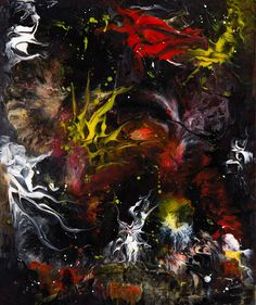 Dreamscapes & Nightmares – Sammlungen – Google+ Demons Dance (Acrylic)    only Presentation Painting board , laminated with cotton Unikat