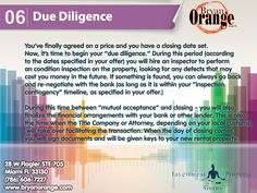 PROPERTY TIPS  BUYING A PROPERTY  www.bryanorange.com  #Realestate #Realtor #Investor #Realestateinvesting #Flipthishouse #Realestateinvestors #Miami #florida