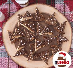 Panettone Chips with Nutella® hazelnut spread