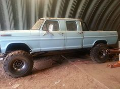Here's my 1969 ford crew cab before my Cummins diesel conversion