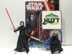 From The Collectors Hutt Star Wars The Force Awakens Kylo Ren Unmasked 3.75 Action Figure Review