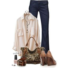 Classy Casual by cynthia335 on Polyvore