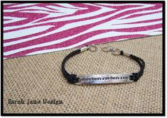 Where There's a Will Bracelet sports jewelry by SarahJaneDesign, $6.00