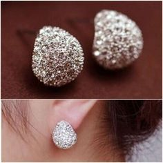 Cheap earrings blue, Buy Quality earring organizers directly from China earrings body Suppliers: Fashion Accessories Chromophous Sparkling Multicolor Beatles Crescent Stud Earring 2016 for Women Rhinestone Earrings, Crystal Earrings, Clip On Earrings, Crystal Rhinestone, Women's Earrings, Pierced Earrings, Shell Earrings, Silver Earrings, Beatles