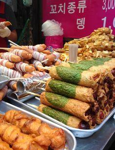 Myeongdong - Street Food of Seoul