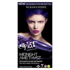 Splat Midnight Hair Color Amethyst 6.0 oz : Target