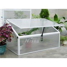 Nison Aluminium Cold Frame 60cm x 60cm