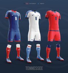 NFL Soccer Kits on Behance