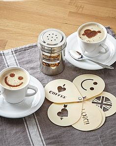 Cool Coffee Stencils | Home Essentials
