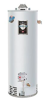 Bradford White 50 Gallon Defender Safety System Atmospheric Vent Energy Saver Residential Water Water Heater Replacement Water Heater Natural Gas Water Heater