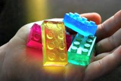 How to Make Lego Glycerin Soap (fun for kids)