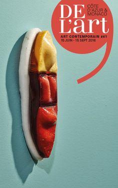 DEL'ART #41 En couverture : Cédric Teisseire Guide de l'art contemporain sur la Côte d'Azur et à Monaco www.de-lart.org
