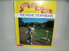Big Top Pee Wee The Movie Storybook // Pee Wee Herman // Vintage 1980s Children's Book // Etsy // LoveVintageAlways