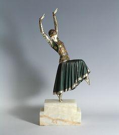 Russian dancer - Demeter Chiparus - c.1920