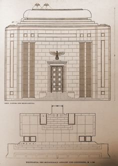 Fascist Architecture, German Architecture, Creative Architecture, Gothic Architecture, Architecture Design, Welthauptstadt Germania, Rationalism, High Castle, Chief Architect