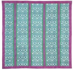 Muslin of cotton cloth 220x220 cm, printed. Can be used as tablecloth. Washing instructions: 30° in washing machine, do not soak.The discontinuities of the design be considered as inherent and ...
