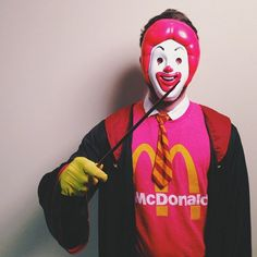 Pin for Later: 38 Epic Halloween Costume Mashup Ideas Ronald McDonald Weasley