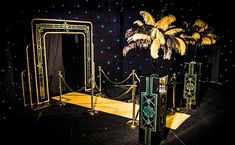 High quality Art Deco Entranceway available to hire. View Art Deco Entranceway details, dimensions and images. Great Gatsby Party Decorations, Great Gatsby Themed Party, Prom Decor, Themed Parties, Roaring 20s Birthday Party, Roaring Twenties Party, Estilo Gatsby, Great Gatsby Prom, Prom Themes