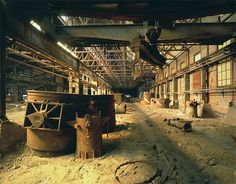 Bethlehem PA Steel plant or what is left of it.