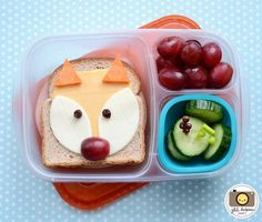"<p>This cute fox takes just minutes to make!</p> <p>Directions<a href=""http://www.meetthedubiens.com/2014/02/this-week-in-bento-boxes-19.html""> HERE</a></p>"