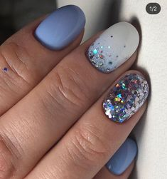 Image shared by Mone🐾💄🧜‍♀️. Find images and videos about pretty, art and cool on We Heart It - the app to get lost in what you love. Glam Nails, Fancy Nails, Beauty Nails, Cute Nails, Pretty Nails, Stiletto Nails, Winter Wedding Nails, Winter Nails, Summer Nails