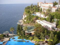 Pestana Carlton Madeira, Funchal, Madeira Island. Maderia has the most beautiful flowers, their national flower that is almost everywhere you look (The Bird of Paradise). Madeira is a very beautiful Island.