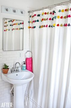 The best before and after bathroom remodels.
