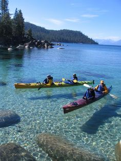 Lake Tahoe Water Trail - Sierra Nevada Geotourism MapGuide
