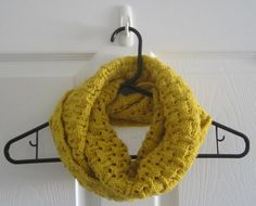 SOLD  Chunky Knit // Infinity Scarf // Reversible // by itsCOWLdoutside, $27.00