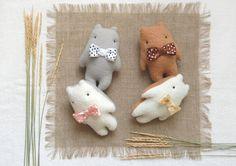 Gift Ideas Animal Gift Art Dolls Miniatures Kids by IrinaMargarita