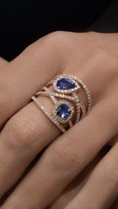 Jewelry Diy Bracelets Gorgeous sapphire and diamond ring Gorgeous sapphire and diamond ring. Jewelry Diy Bracelets Gorgeous sapphire and diamond ring Gorgeous sapphire and diamond ring Sapphire Jewelry, Diamond Jewelry, Gold Jewelry, Jewelery, Gothic Jewelry, Sapphire Diamond Rings, Tanzanite Ring, Bullet Jewelry, Leather Jewelry