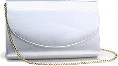 Beautiful, elegant bridal handbag that looks wonderful for any special occassion.Available in Satin or Crepe, with the option of a gold or silver chain.Chain can be removed to use bag as a clutch.