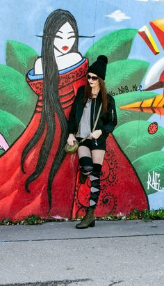 The Punk inside | Outfit Post & Thoughts about fashion, styles & subculture | UrbanOutfitters | Graffiti