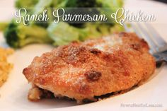 Ranch Parmesan Chicken - How to Nest for Less™ Ranch Parmesan Chicken, Chicken Parmesan Recipes, Oven Chicken, 9x13 Baking Dish, Cheap Meals, Easy Meals, Food Dishes, Main Dishes, Cooking Recipes