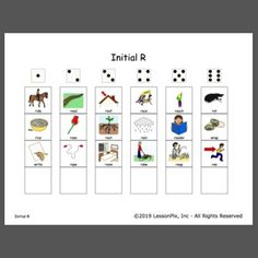 Roll the Dice! Speech Pathology, Speech Therapy, Speech And Language, Dice, Grid, Initials, Ideas, Speech Language Therapy, Speech Language Pathology