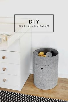 susen waschekorb furs kinderzimmer selber machen pretty dirty laundry a nursery diy baby room decor kids bedroom idea - The world's most private search engine Baby Room Diy, Baby Room Decor, Baby Nursery Diy, Diy Nursery Decor, Nursery Ideas, Project Nursery, Diy For Room, Diy Bedroom Decor For Girls, Diys For Your Room